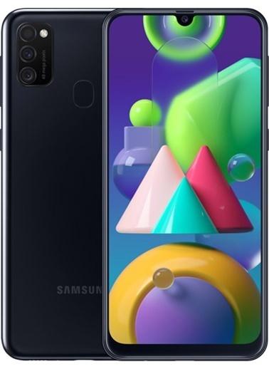 Samsung Galaxy M21 64Gb (Çift Sım) Siyah Cep Telefonu (Türkiye Garantili) Siyah